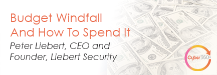 Budget windfall and how to spend it.
